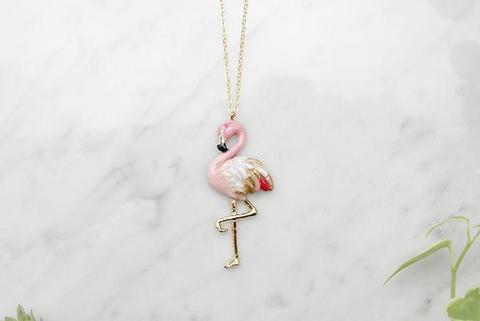 Колье Фламинго