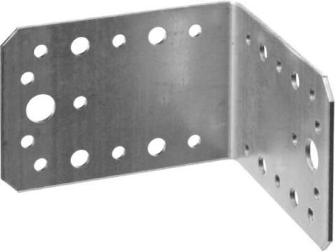 Уголок крепежный УК-2.5, 65х145х145 х 2.5мм, ЗУБР