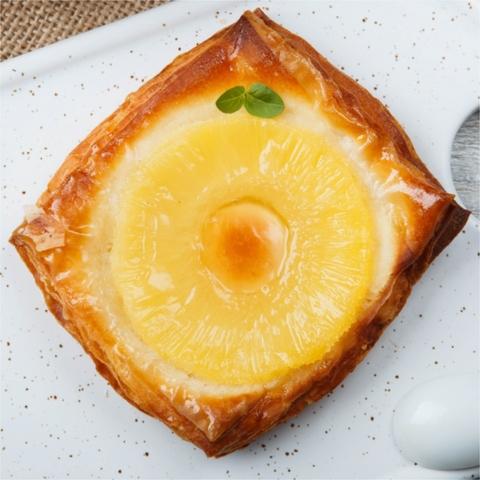 Круассаны Дениш с ананасом 1 кг