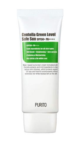 PURITO Солнцезащитный крем PURITO Centella Green Level Safe Sun 60ml