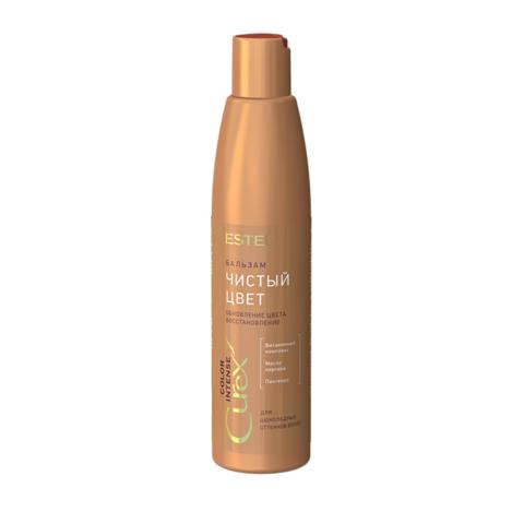 """Бальзам """"Чистый цвет"""" для шоколадных оттенков волос СUREX COLOR INTENSE, 250 мл"""