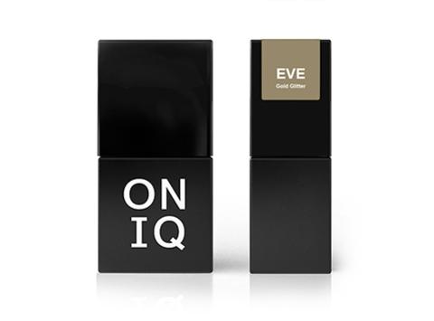 Гель-лак ONIQ Eve 123 - Gold Glitter, 10 мл