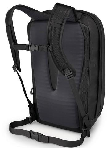 Картинка рюкзак городской Osprey Transporter Panel Loader 20 Black - 2