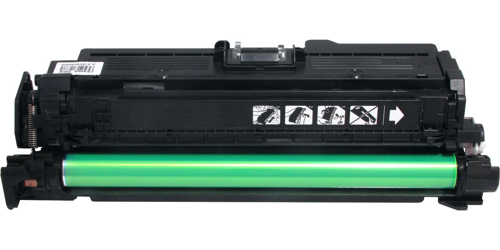 Картридж лазерный цветной MAK© 507A CE402A желтый (yellow), до 6000 стр.