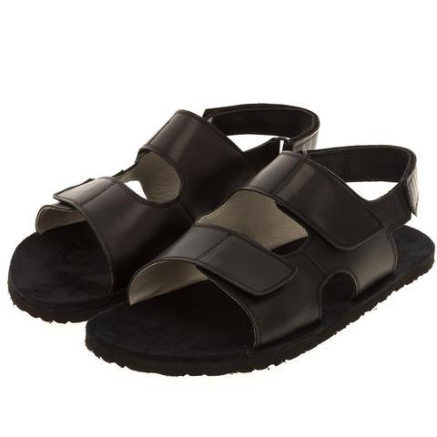 579157 сандалии мужские черные. КупиРазмер — обувь больших размеров марки Делфино