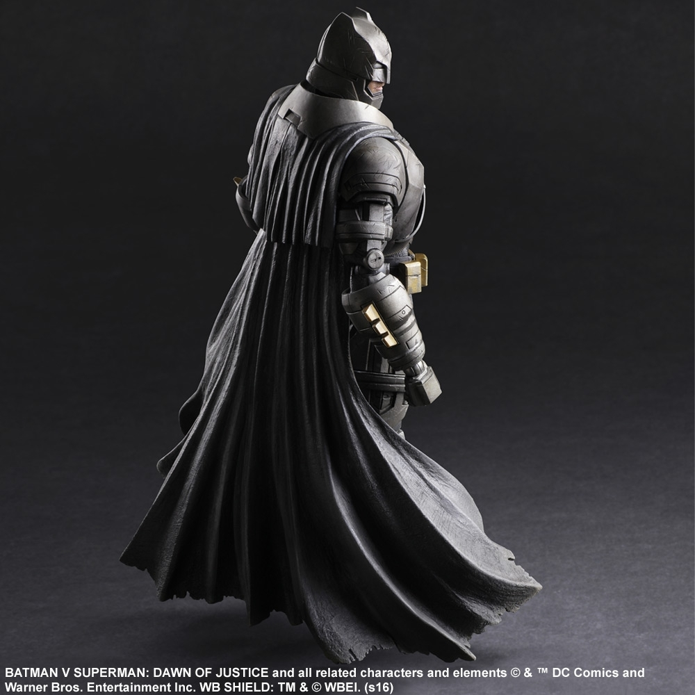 Бэтмен против Супермена фигурка Бэтмен броня (копия) — Batman v Superman: Dawn of Justice Armor Batman Play Arts Kai (copy)