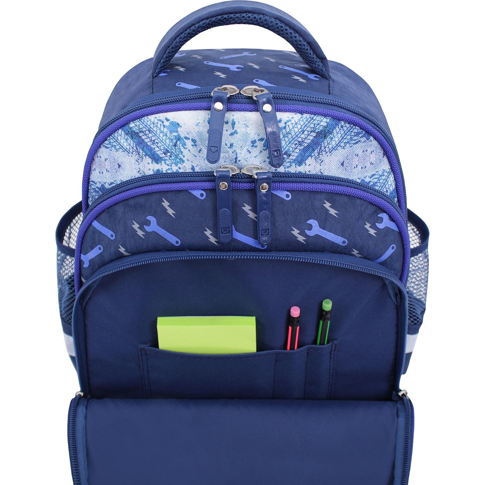 Рюкзак школьный Bagland Mouse 225 синий 534 (0051370) фото 4