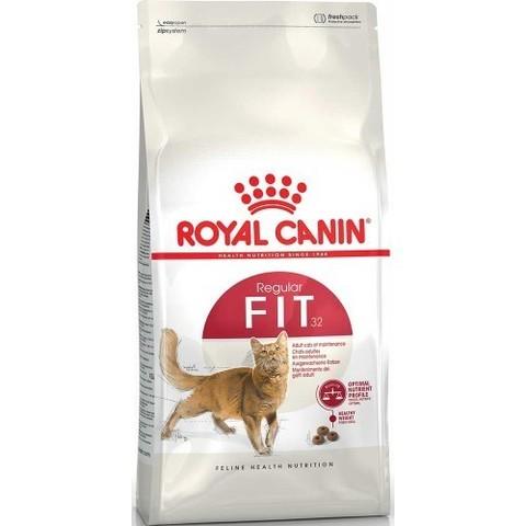 Royal Canin Fit 32 сухой корм для взрослых кошек бывающих на улице 4 кг
