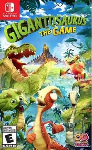 Gigantosaurus: The Game (Nintendo Switch, русская версия)