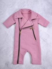 Комбинезон косуха, пыльный розовый