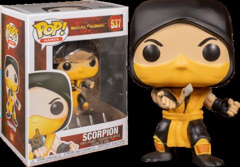Mortal Kombat Scorpion Funko Pop! Vinyl Figure || Скорпион