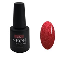 Красный металлик гель-лак NEON