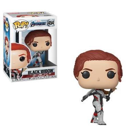 Фигурка Funko POP! Bobble: Marvel: Avengers Endgame: Black Widow 36665