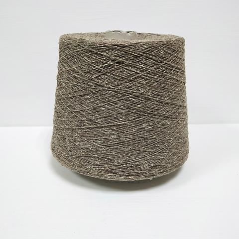 FB Silk, Filati Buratti, Шёлк 100%, Буретный твидовый капучино, 780 м в 100 г