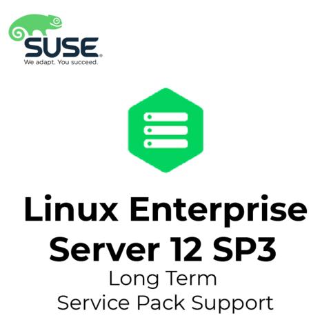 SUSE Linux Enterprise Server 12 SP3 Long Term Service Pack Support