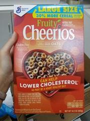 Готовый завтрак Cheerios Fruity 402 гр