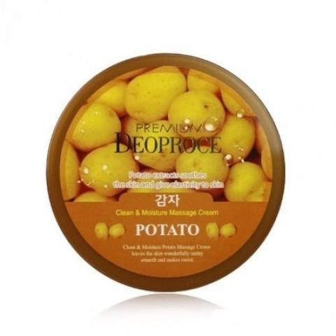 Крем для лица очищающий Deoproce с экстрактом картофеля 300 гр