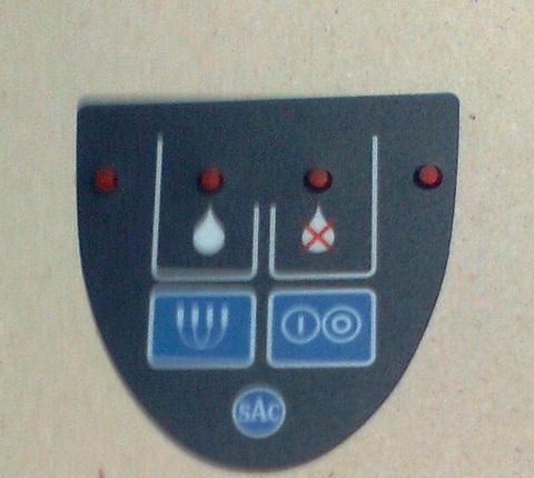 24200163 Панель передняя для крышки UNICO