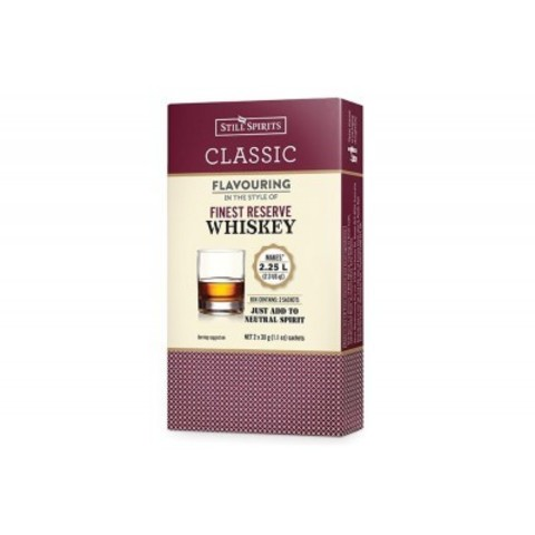 Эссенция Still spirits Classic Finest reserve scotch whiskey, 2х16 г на 2,25 л