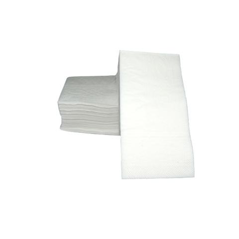 NL012(NL550) Салфетки 33*33 см белые двухслойные (1/8 сложение) 100 шт