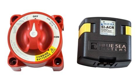 Реле зарядки SI-ACR (120 А) и выключатель массы