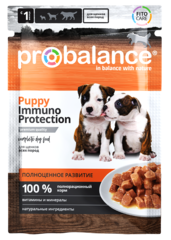 Пауч ProBalance Puppy Immuno Protection  для щенков