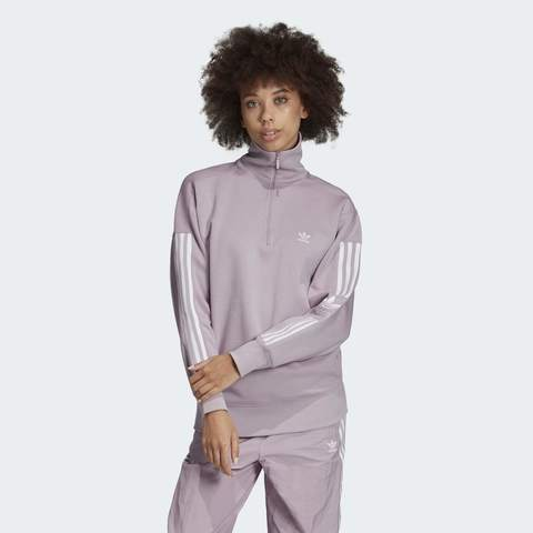 Свитшот женский adidas ORIGINALS HALF-ZIP