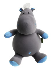 Подушка-игрушка антистресс Gekoko «Бегемот малыш Няша», голубой 2