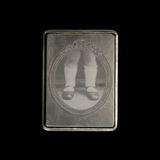 Металлическая коробочка: сердечки+парфюм MATHILDE M