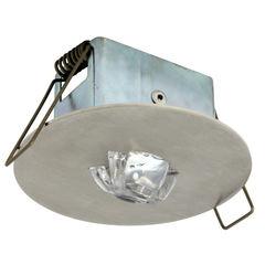 Светильник аварийный светодиодный встраиваемый для коридоров EYE/C LED Round Awex
