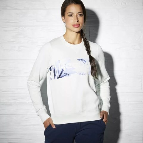 Свитшот женский Reebok CLASSIC FLORAL GRAPHIC CREW NECK SWEAT