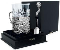 Серебряный набор для чая «Подарочный»