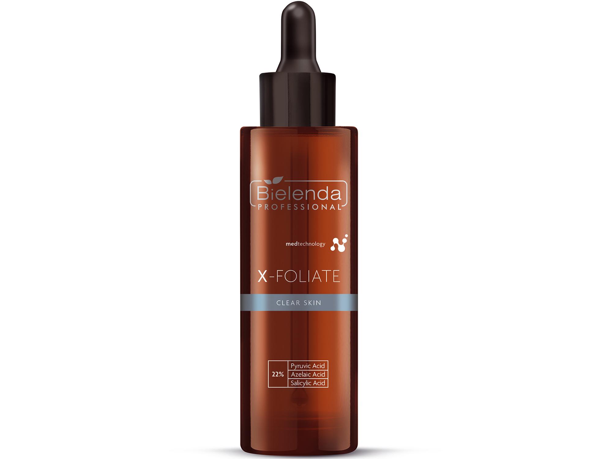 X-FOLIATE Clear Skin - Пилинг  для жирной кожи лица, предрасположенной  к акне