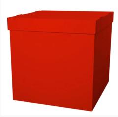 Коробка для шаров (Красный) 60*60*60 см.