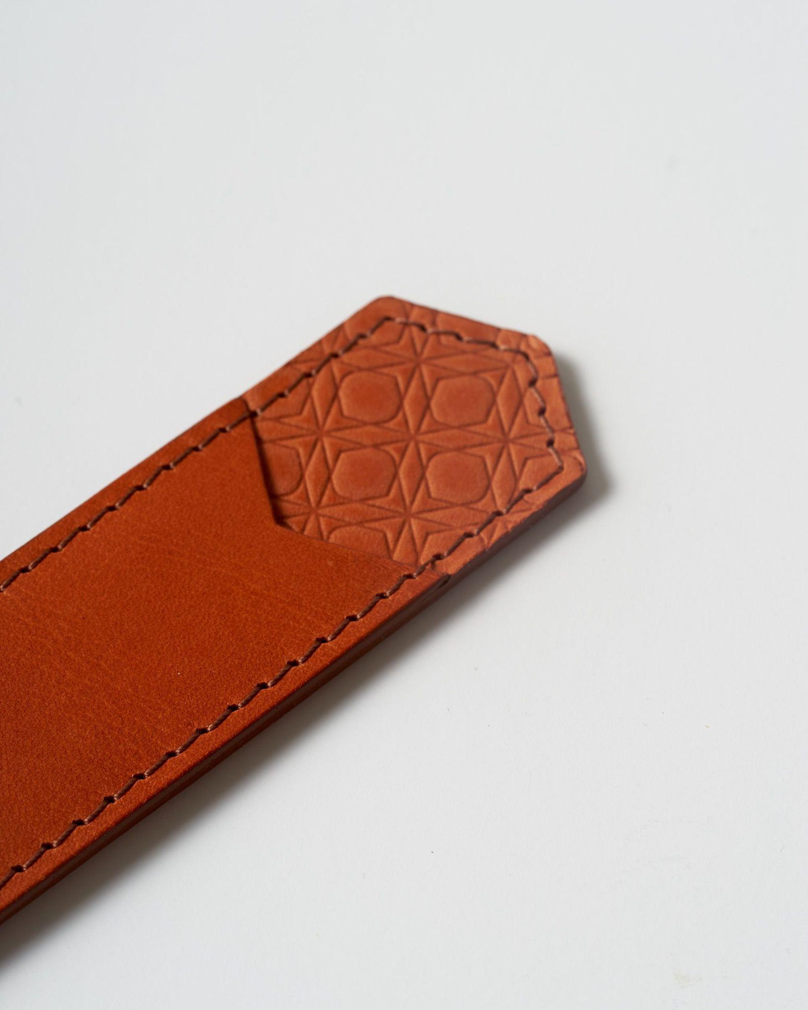 Ajoto Pen Pouch Caramel - чехол кожаный