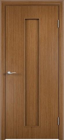 Дверь Верда С-21, цвет орех, глухая