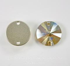 3200 Пришивные стразы Сваровски Crystal Golden Shadow (12 мм)