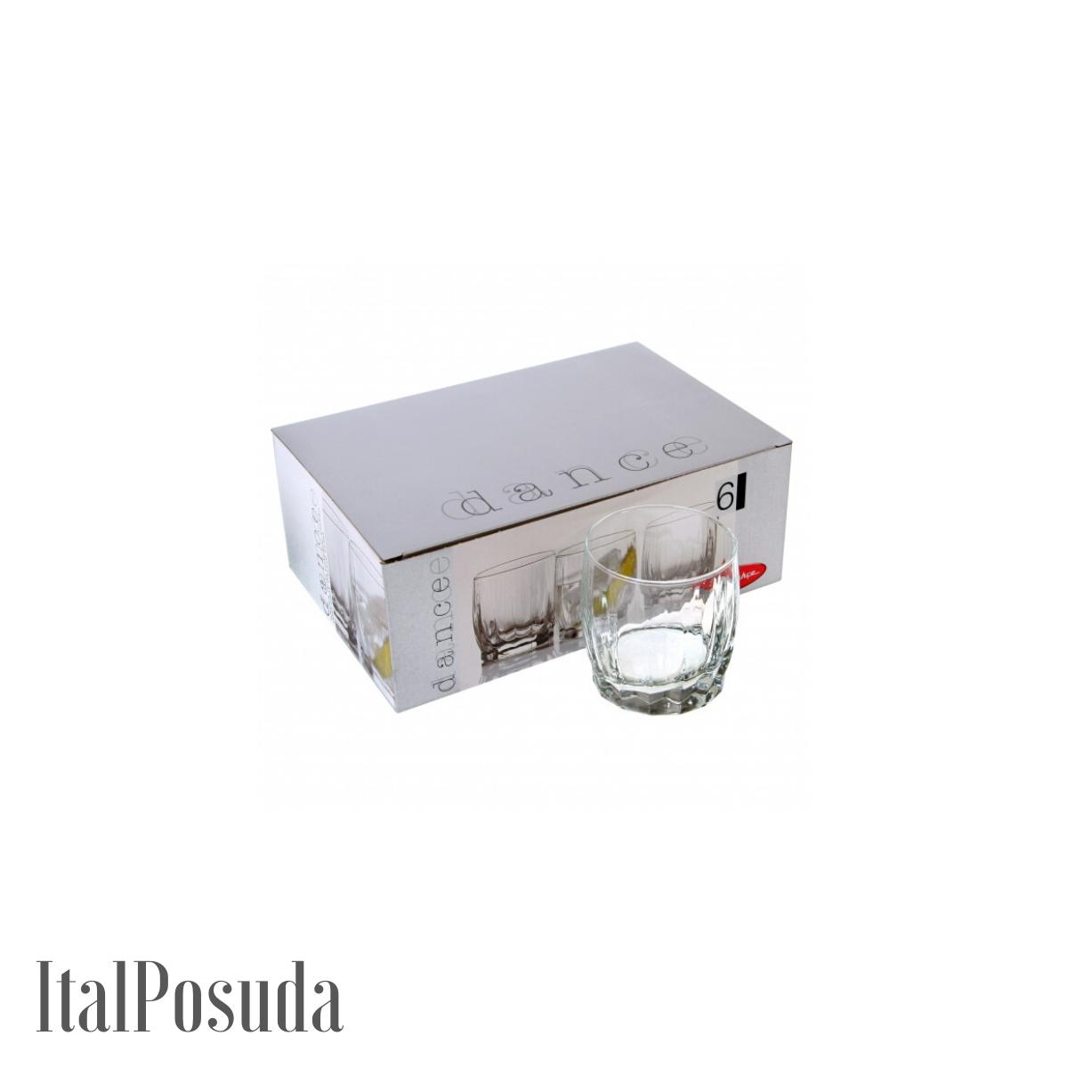 Набор стаканов для воды Pasabahce Dance (Данс), 6 шт BP42865