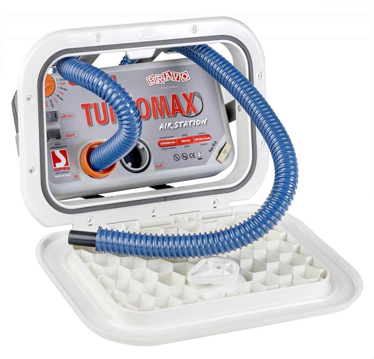 BUILT-IN TURBO MAX INFLATOR