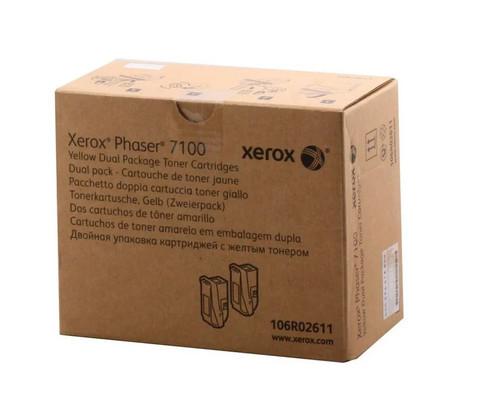 Картридж Xerox 106R02611 желтый