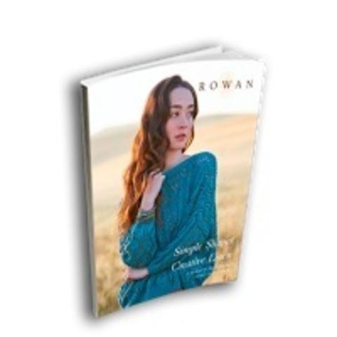Журнал по вязанию Rowan SIMPLE SHAPES CREATIVE LINEN  с переводом на русский язык!
