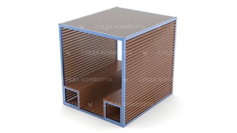 Скамейка с навесом SCAM0102