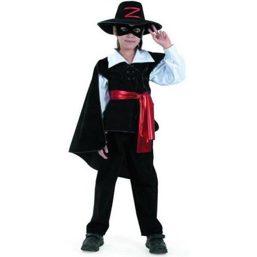 Карнавальный костюм Зорро детский бархат