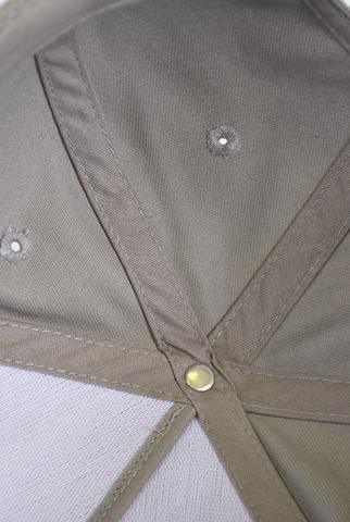 Бейсболка для вышивки серая фото 3