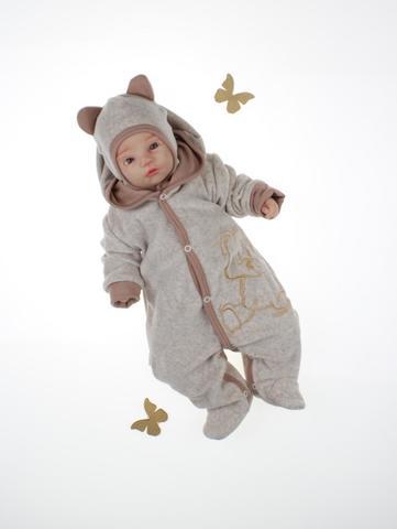 Комбинезон для новорождённого с шапкой Мишка
