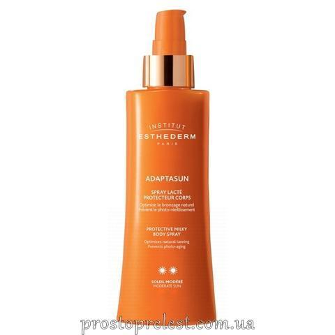 Institut Esthederm Adaptasun Protective Milky Body Spray SPF 30 - Солнцезащитный спрей для тела
