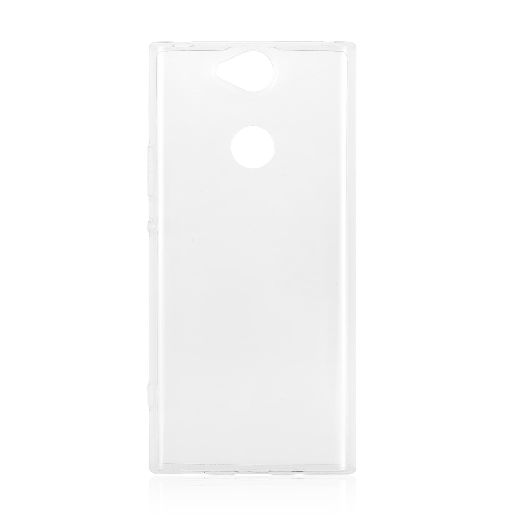 Brosco XA2 Plus / накладка силиконовая прозрачная
