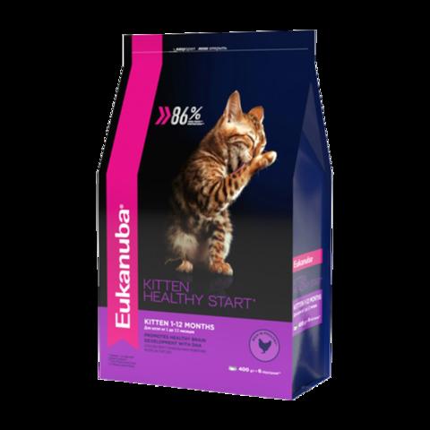 Eukanuba Kitten Healthy Start Сухой корм для котят