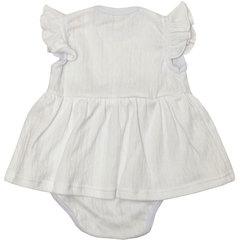 Папитто. Боди-платье Ажур, белый вид 2