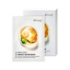 Тканевая маска для лица МУЦИН УЛИТКИ Snail Cica+ Perfect Repair Mask, 25 мл* 5шт ESTHETIC HOUSE